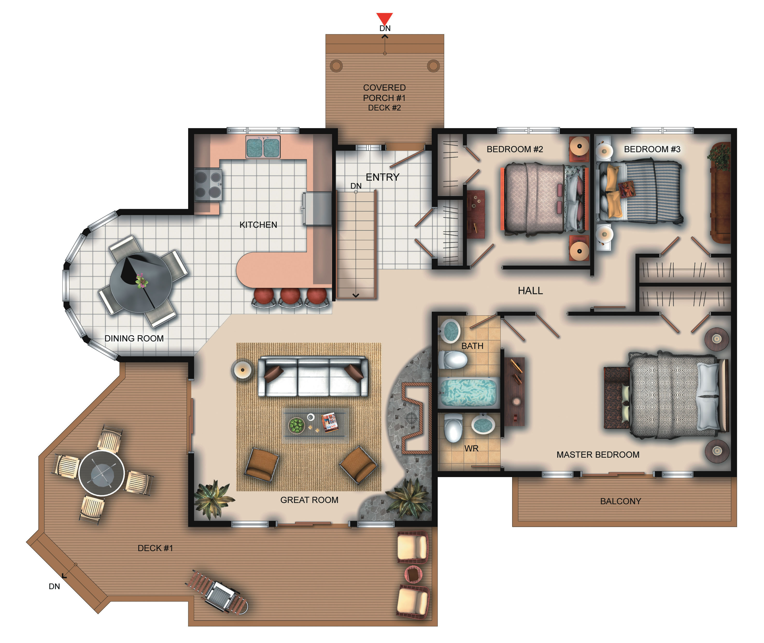 Maisons roco for Viceroy homes floor plans